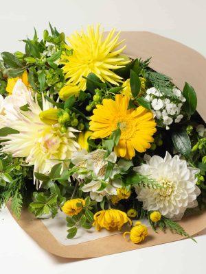 expressions-local-cambridge-hamilton-florist-delivery-yellow-flower-bouquet