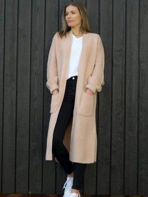 cardigan-blush-longliner-model-fashion-hello-friday-expressions