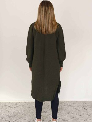 cardigan-olive-longliner-model-fashion-hello-friday-expressions-1