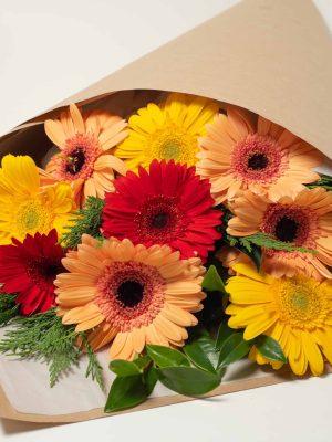 expressions-local-cambridge-hamilton-florist-delivery-bright-gerbera-flower-bouquet
