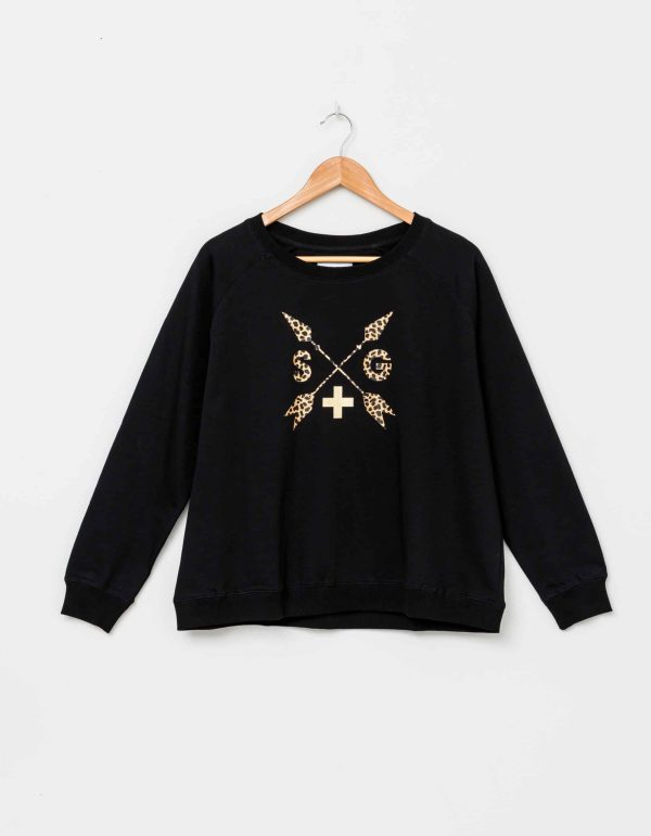 stella-gemma-SGTS3095-black-leopard-arrows-sweater-expressions