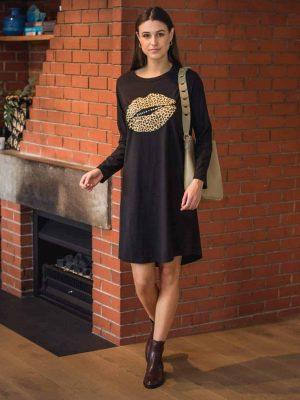 stella-gemma-dress-SGWF2066-black-leopard-lips-aniston-long-sleeve-expressions-1