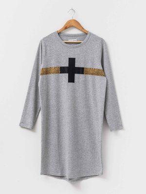 stella-gemma-dress-SGWF2067-grey-cheetah-stripe-aniston-long-sleeve-expressions