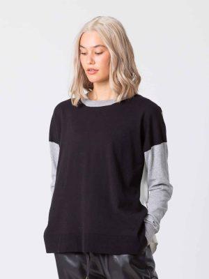stella-gemma-jumper-SGWF2065-black-white-marci-sweater-expressions-2