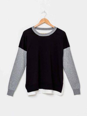 stella-gemma-jumper-SGWF2065-black-white-marci-sweater-expressions