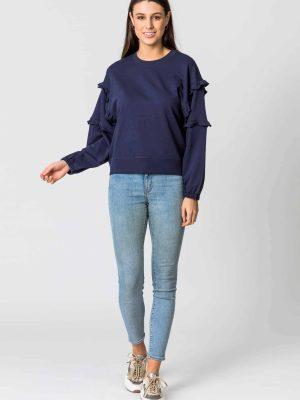 stella-gemma-sweater-abi-ruffle-navy-SGSW8007-expressions