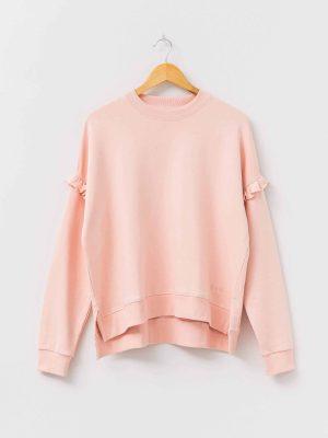 stella-gemma-sweater-ruffle-lexi-peachy-pink-SGSW8012-expressions