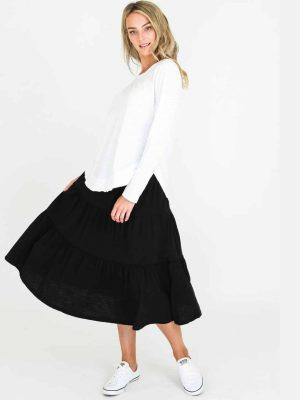 3rd-story-clothing-piper-skirt-black-1358B-expressions-nz