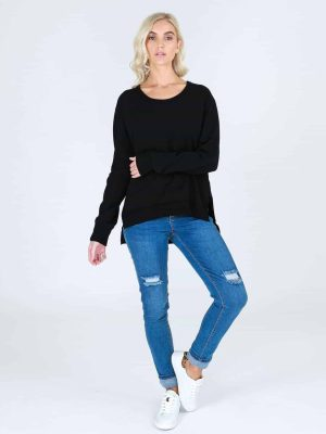 3rd-story-clothing-ulverstone-sweater-black-2107B-expressions-nz