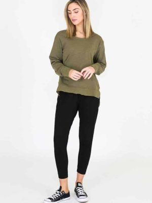 3rd-story-clothing-ulverstone-sweater-sage-2107S-expressions-nz