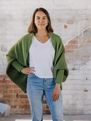hello-friday-clothing-cardigan-cape-cocoon-kale-expressions