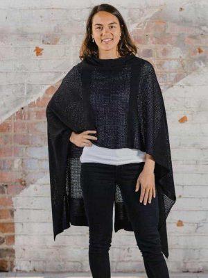 hello-friday-highflyer-high-flyer-poncho-scarf-cardigan-black-expressions
