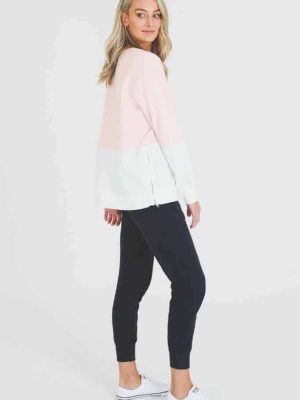 3rd-story-clothing-hailey-sweater-misty-rose-white-1424MRW-expressions-nz-1