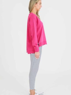 3rd-story-clothing-harmony-sweater-magenta-1278M-expressions-nz-1