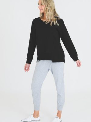 3rd-story-clothing-iris-sweater-black-blue-1400B-expressions-nz