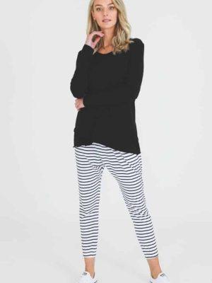 3rd-story-maia-long-sleeve-tee-t-shirt-black-1413B-expressions-nz