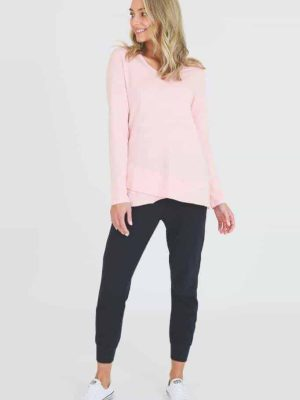 3rd-story-maia-long-sleeve-tee-t-shirt-misty-rose-1413SP-expressions-nz