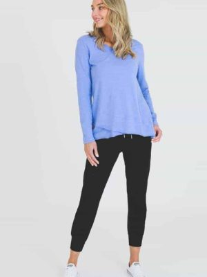 3rd-story-maia-long-sleeve-tee-t-shirt-spanish-violet-1413SV-expressions-nz
