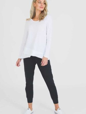 3rd-story-maia-long-sleeve-tee-t-shirt-white-1413SW-expressions-nz