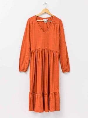 stella-gemma-dress-SGWF2092-tilly-tiered-rust-long-sleeve-expressions-4