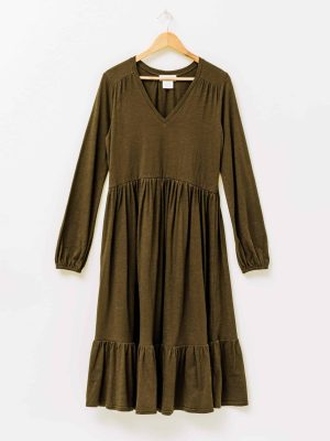 stella-gemma-dress-SGWF2101-tilly-tiered-olive-long-sleeve-expressions