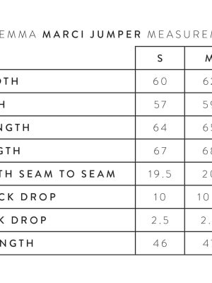 stella-gemma-livia-sweater-JUMPER-MEASUREMENTS-size-guide-expressions