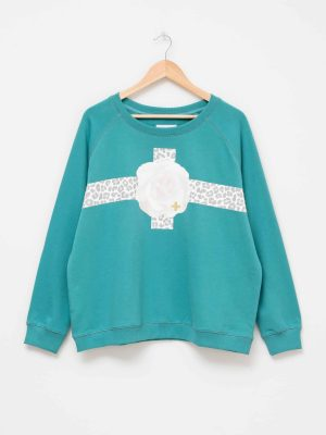 stella-gemma-SGTS3145-clothing-fierce-floral-teal-sweater-expressions