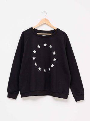 stella-gemma-SGTS3148-clothing-silver-stars-black-sweater-expressions