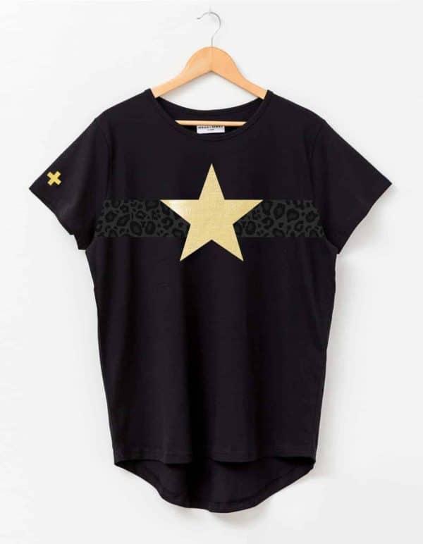 stella-gemma-t-shirt-SGTS3174-leopard-stripe-gold-star-black-expressions